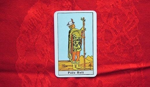 Čtyři živlová Pážata - Tarot