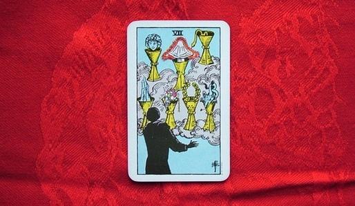 Tarot VII Poháry