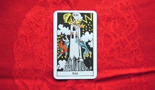 XVI - VĚŽ (Pe = Mars) - Tarot