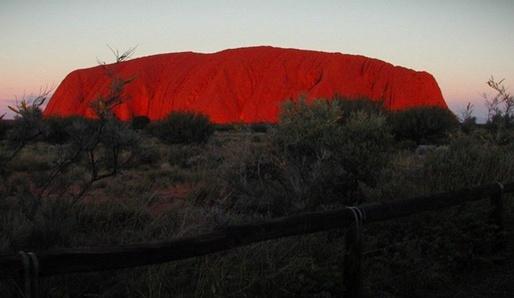 Posvátná krajina Uluru