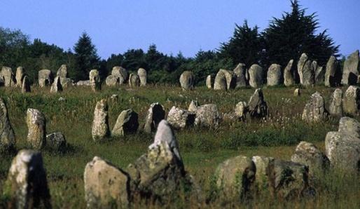 Kamenné aleje v Carnacu