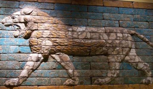 Babylonský lev.